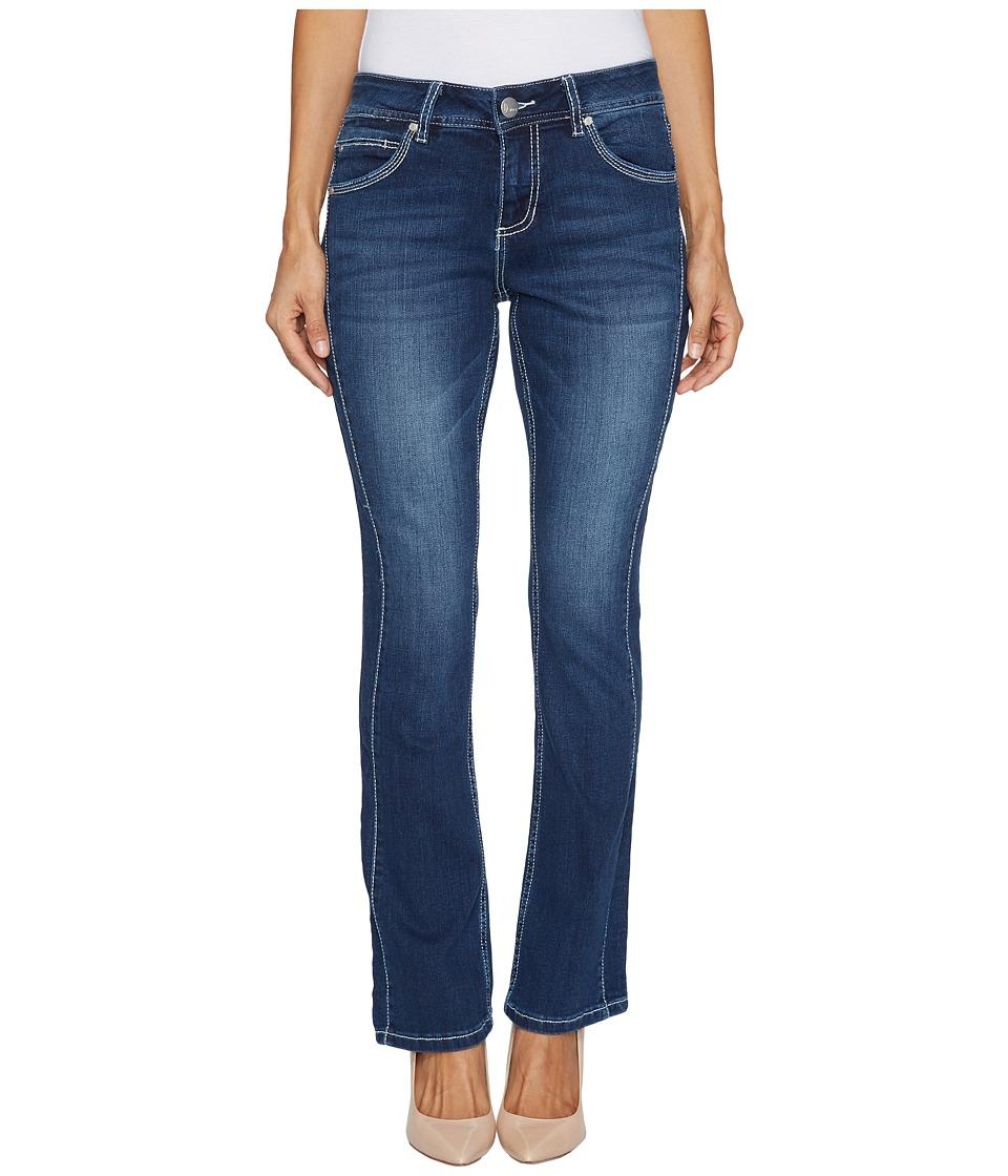 Jag Jeans Petite - Petite Bianca Boot Platinum Denim in Bucket Blue