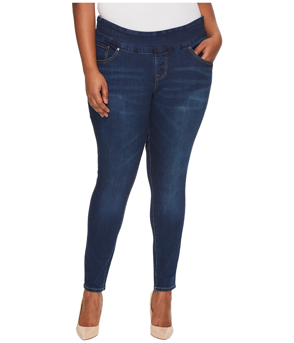 Jag Jeans Plus Size Plus Size Nora Pull-On Skinny Butter Denim in Flatiron (Flatiron) Women