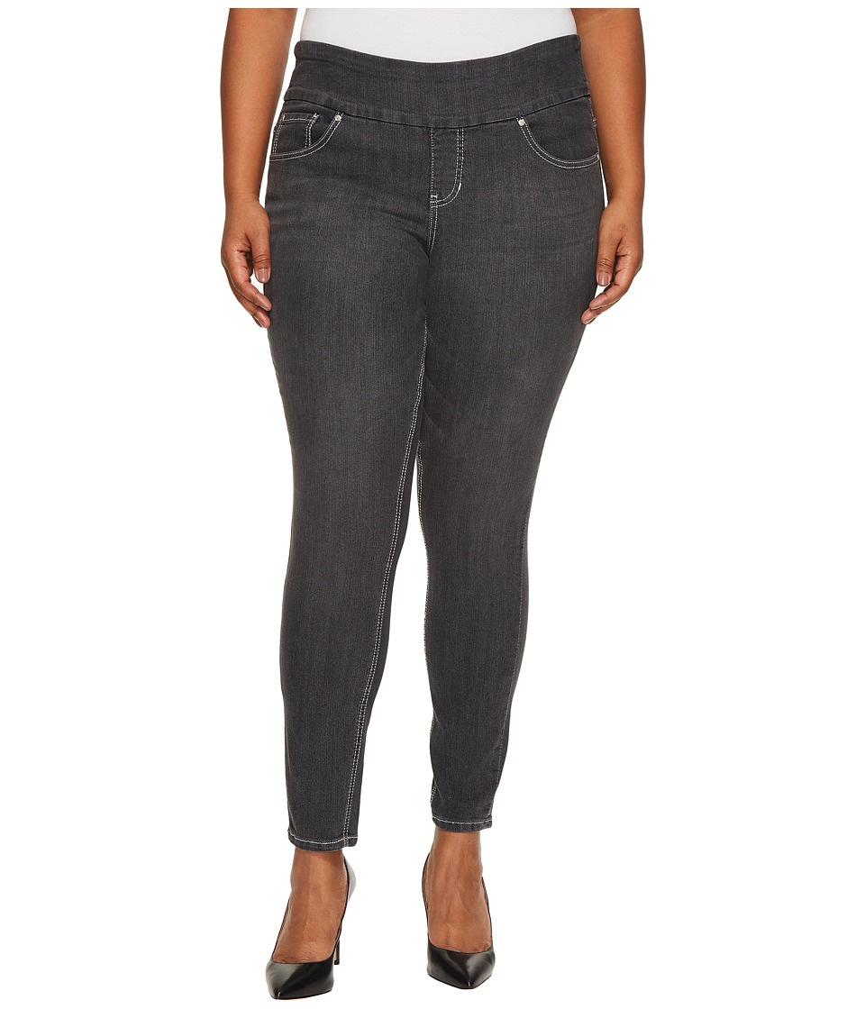 Jag Jeans Plus Size Plus Size Nora Pull-On Jackie Skinny Comfort Denim in Thunder Grey (Thunder Grey) Women