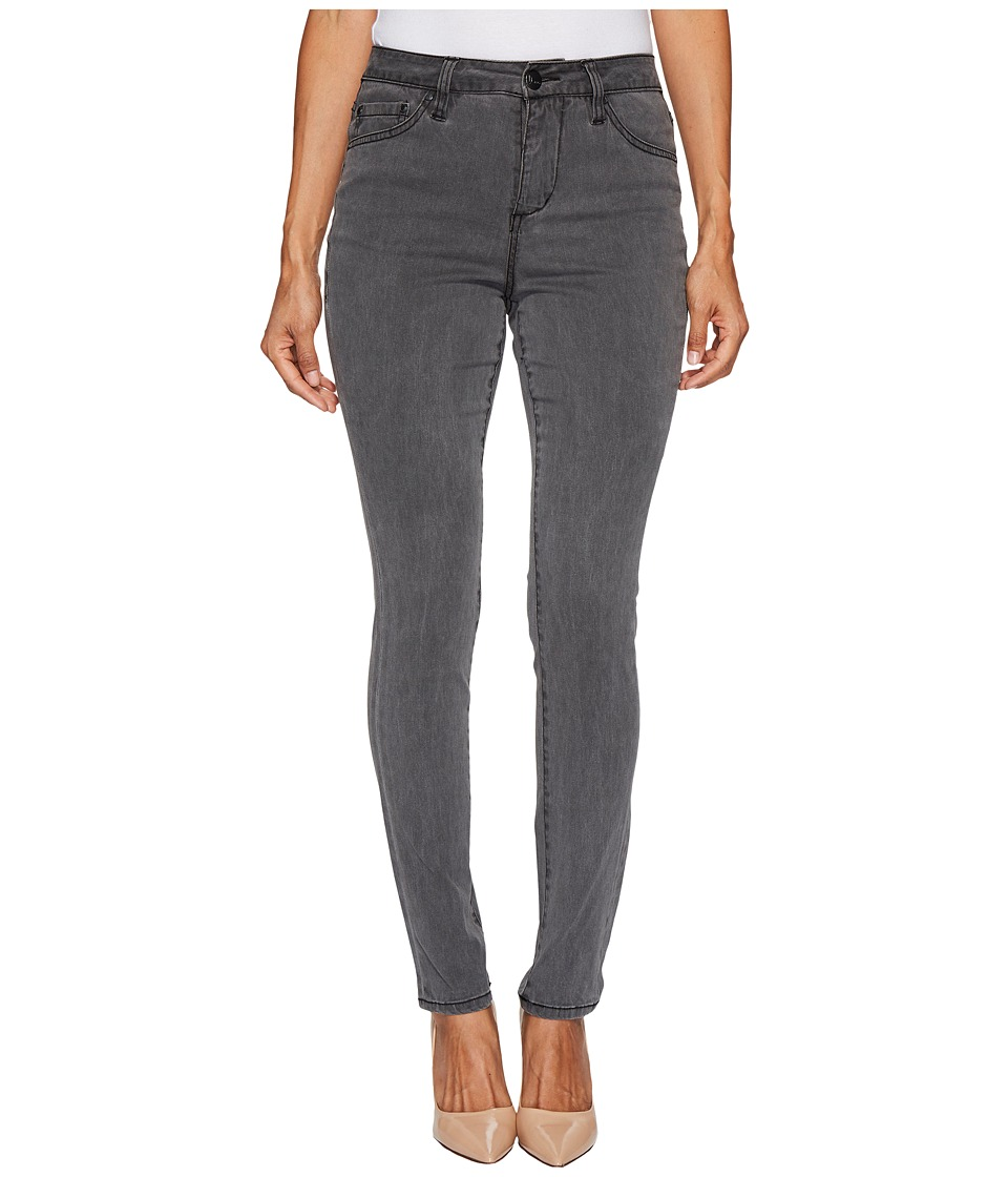 Jag Jeans Petite - Petite Gwen Hi-Rise Skinny in Lush Sateen in Washed Black