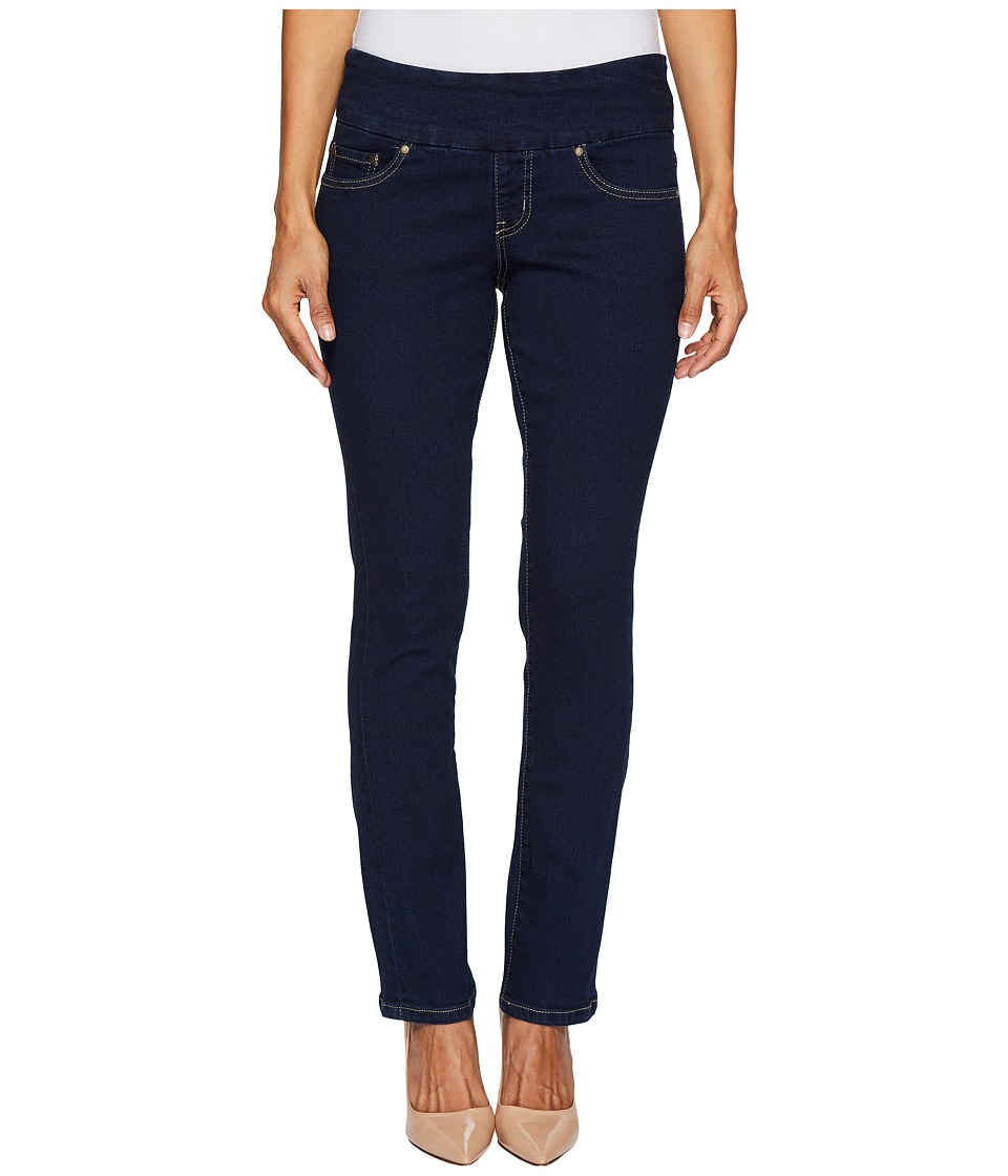 Jag Jeans Petite Petite Peri Pull-On Straight Butter Denim in Ink (Ink) Women