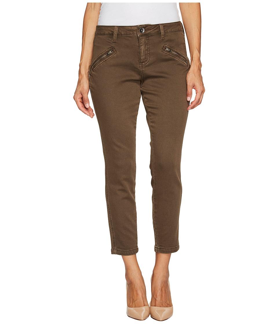 Jag Jeans Petite Petite Ryan Skinny Freedom Colored Knit Denim in Saddle (Saddle) Women