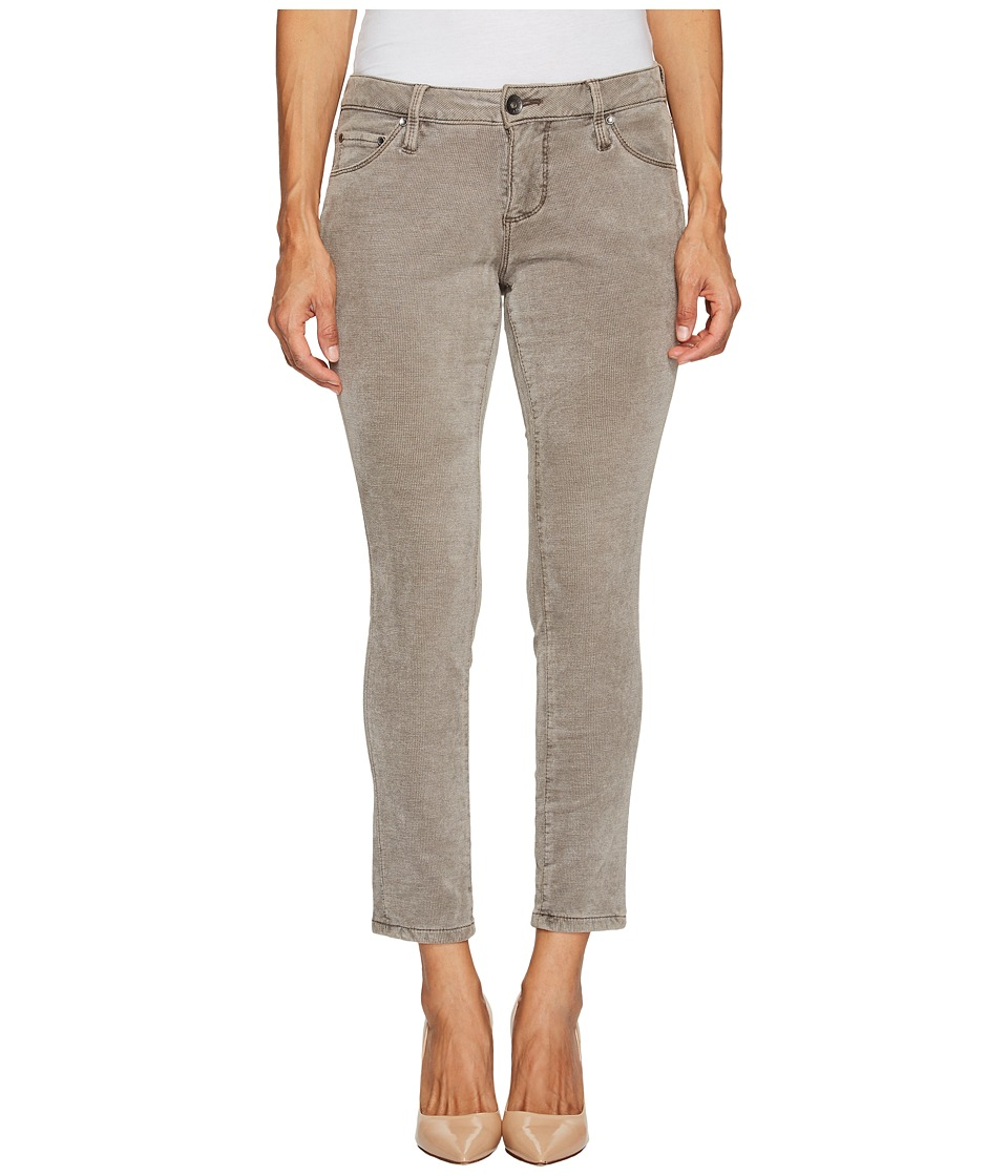 Jag Jeans Petite Petite Mera Skinny Ankle in Plush Waffle Knit (Dark Chocolate) Women