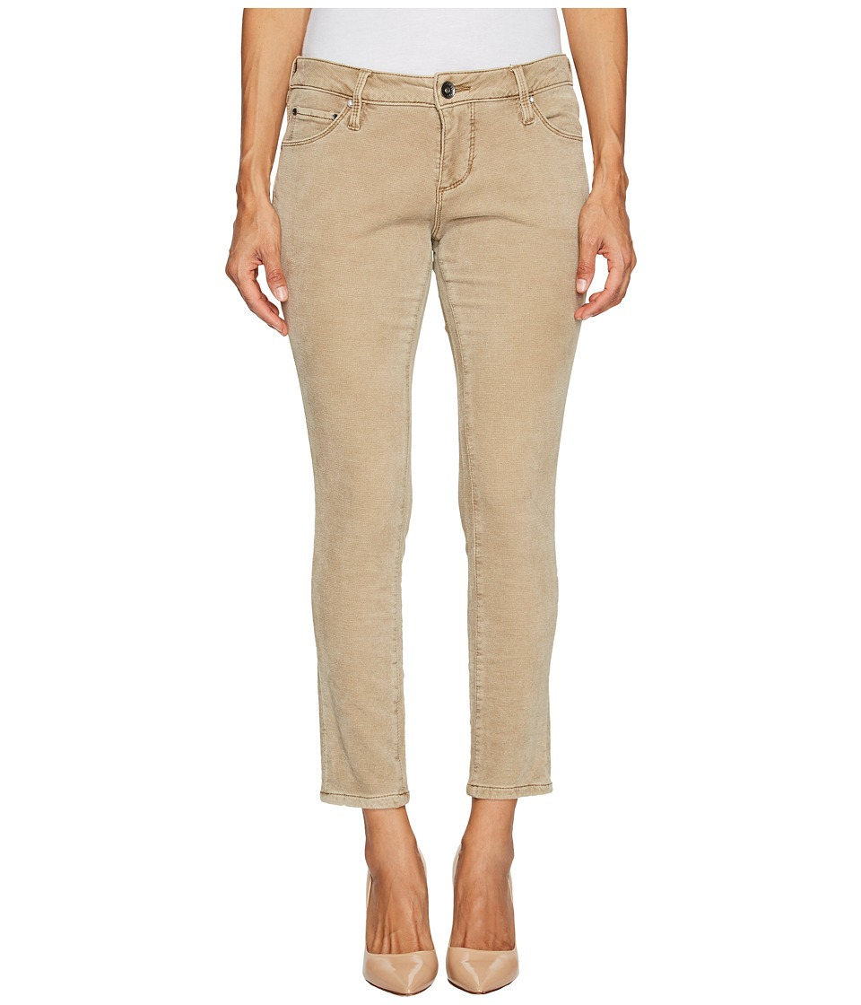 Jag Jeans Petite Petite Mera Skinny Ankle in Plush Waffle Knit (Nutty) Women