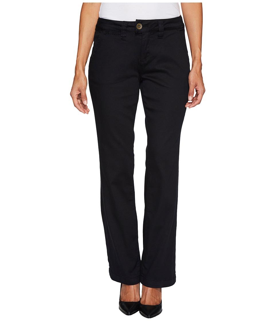 Jag Jeans Petite Petite Standard Trousers in Divine Twill (Black) Women