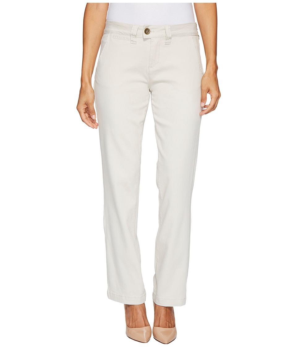 Jag Jeans Petite Petite Standard Trousers in Divine Twill (Stone) Women