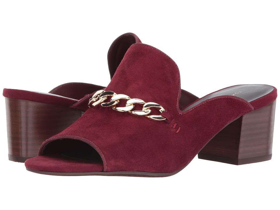 Tommy Hilfiger Zoletric (Burgundy Leather) Women