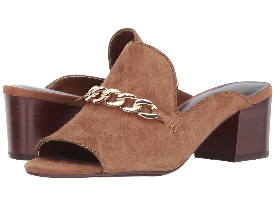 Tommy Hilfiger Zoletric (Cognac Leather) Women