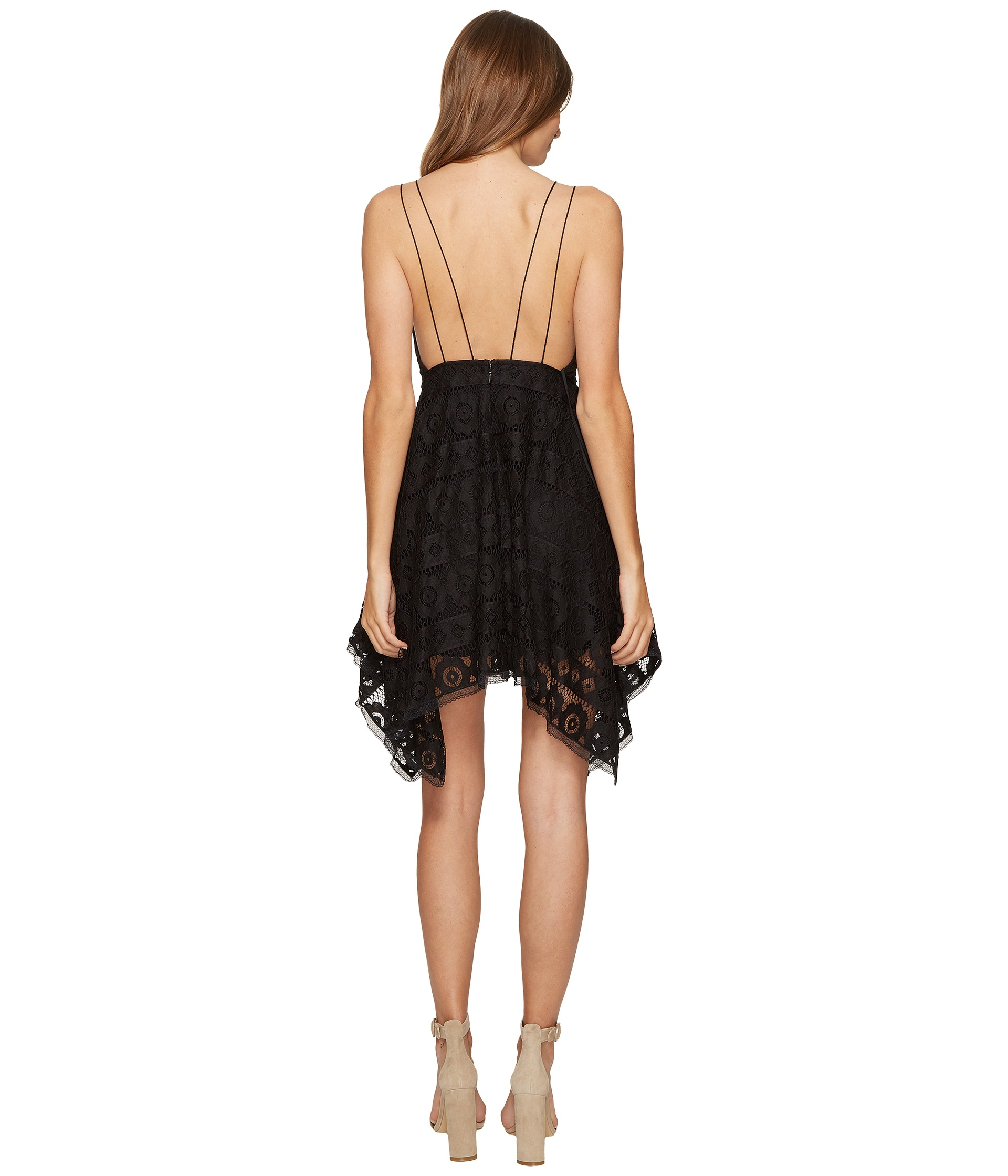 Free People Just Like Honey Lace Dress at Zappos.com
