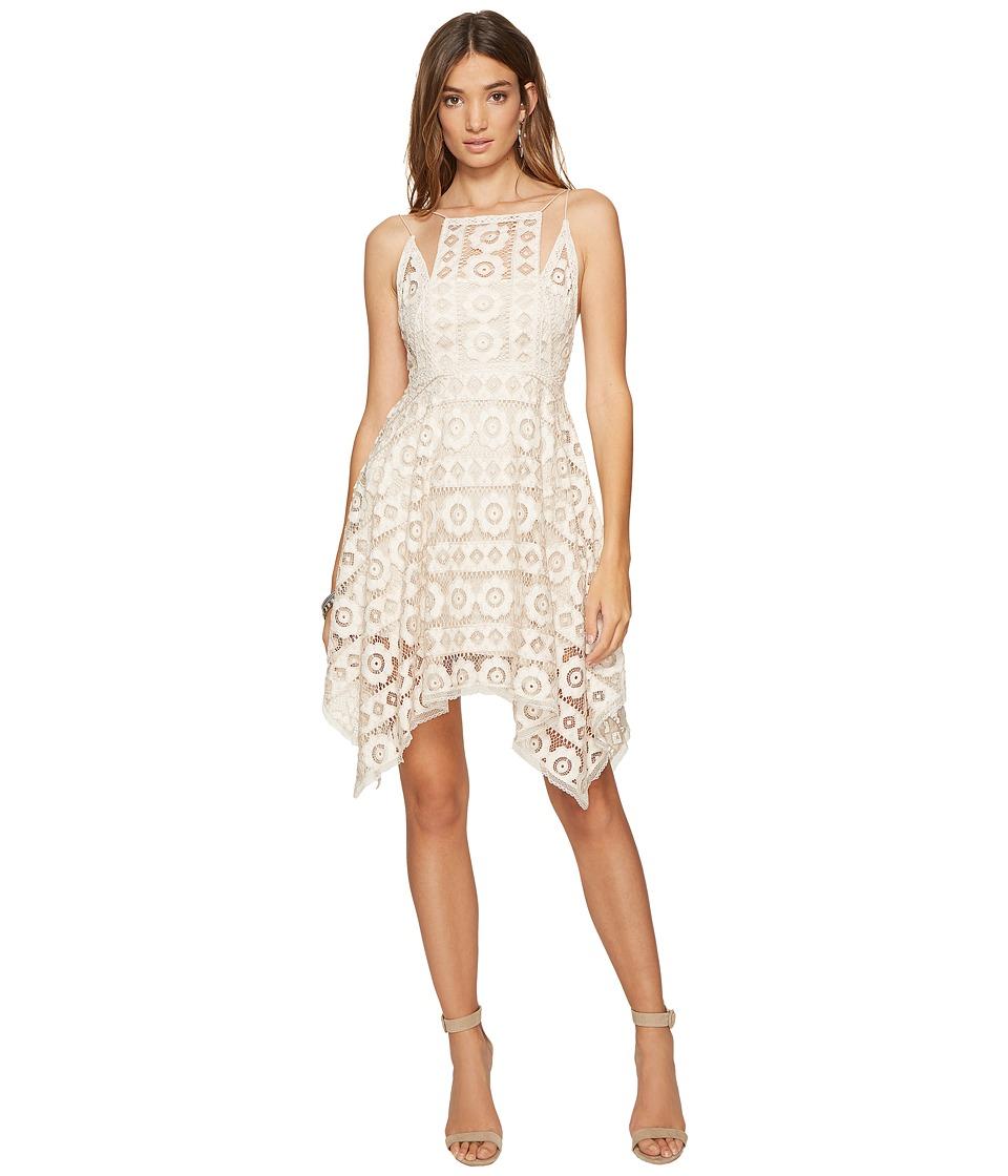 Free People Just Like Honey Lace Dress (Ivory) Women