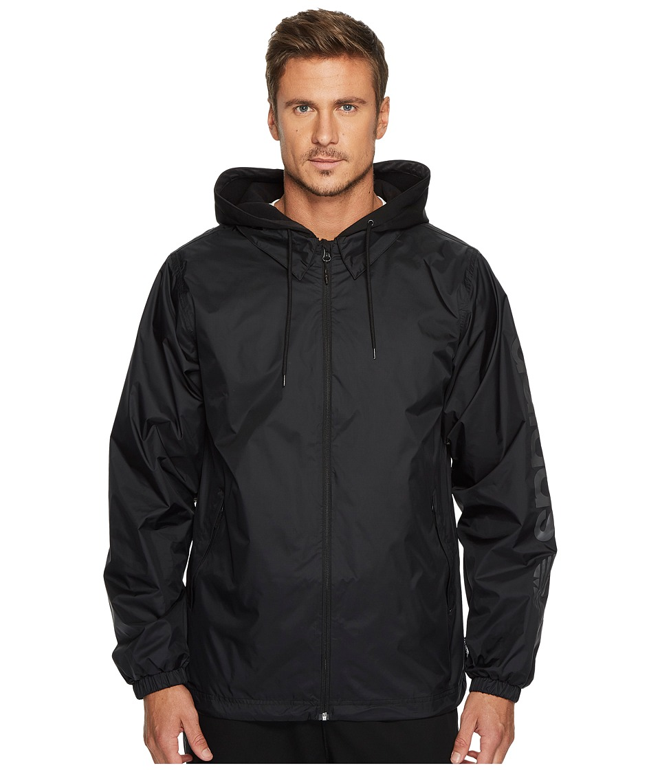 adidas Skateboarding - Civilian Jacket (Black/Black) Mens Coat