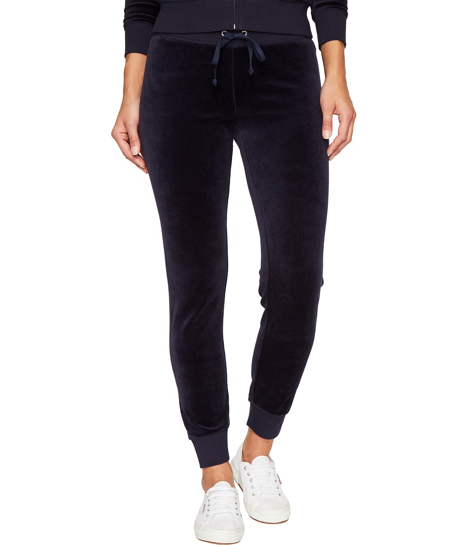 Juicy Couture - Zuma Velour Pants (Regal) Women's Casual Pants