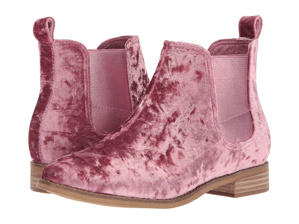 TOMS Ella (Faded Rose Velvet) Women
