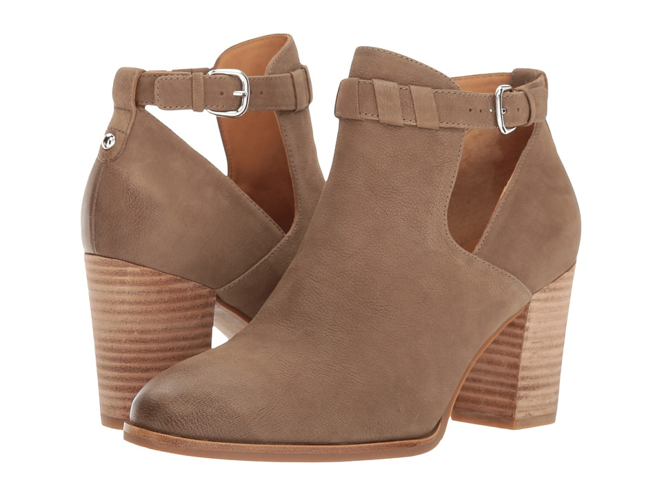 Via Spiga Samantha (Dark Taupe Nubuck) High Heels