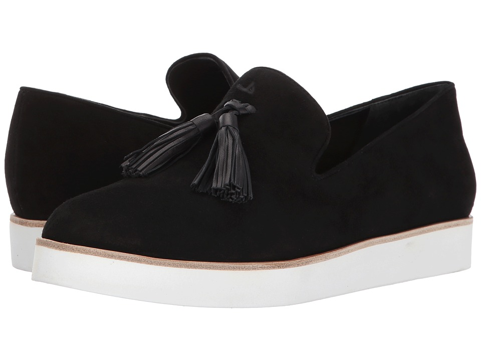 Via Spiga Toni (Black Suede) Women