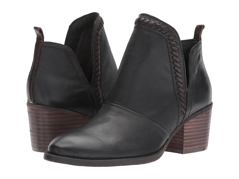 OTBT Venture (Black Leather) Women