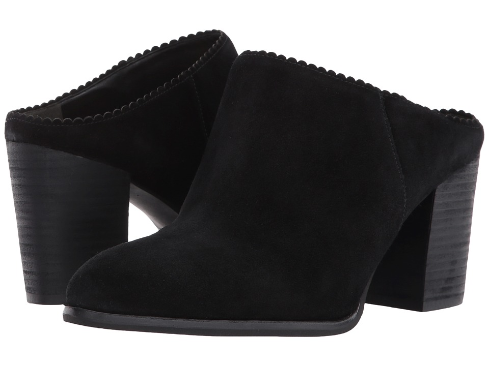Via Spiga Sophia (Black Suede) High Heels
