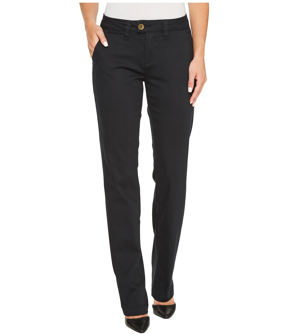 Jag Jeans - The Standard Trousers in Bay Twill (Black) Womens Casual Pants