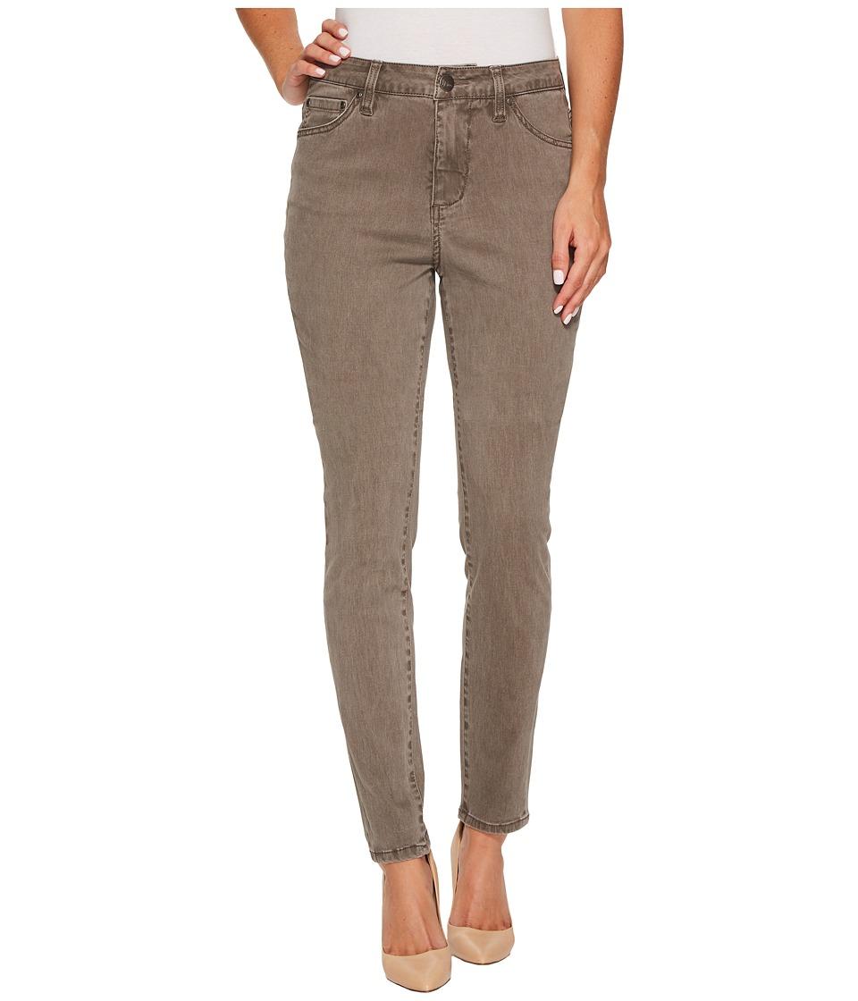 Jag Jeans Gwen High-Rise Skinny in Lush Sateen (Falcon) Women
