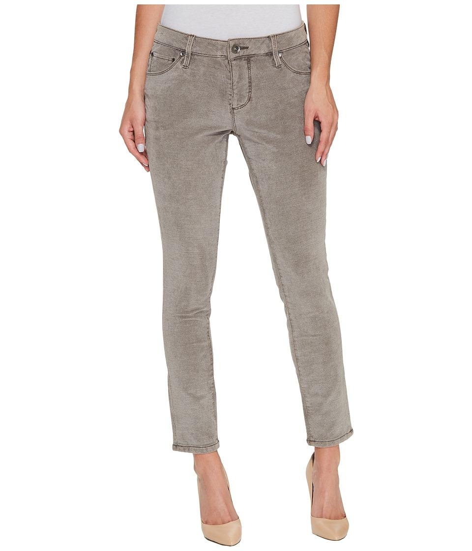 Jag Jeans Mera Skinny Ankle in Plush Waffle Knit (Dark Chocolate) Women