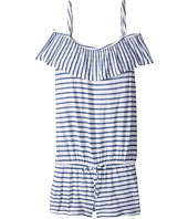 Splendid Littles - Chambray All Day Off the Shoulder Romper Cover-Up (Big Kids)