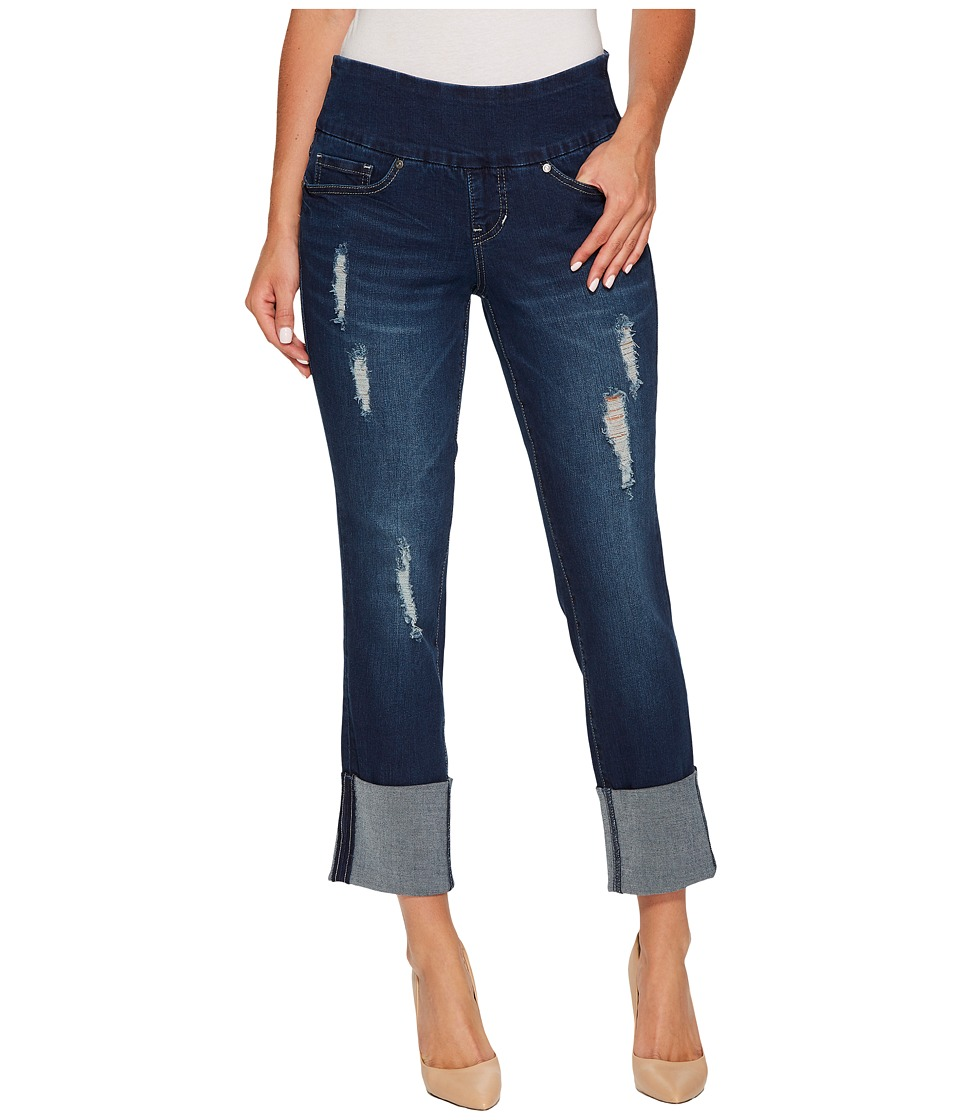 Jag Jeans - Lewis Pull-On Straight Cuffed Butter Denim in Cosmos (Cosmos) Womens Jeans