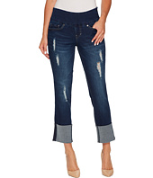 Jag Jeans - Lewis Pull-On Straight Cuffed Butter Denim in Cosmos