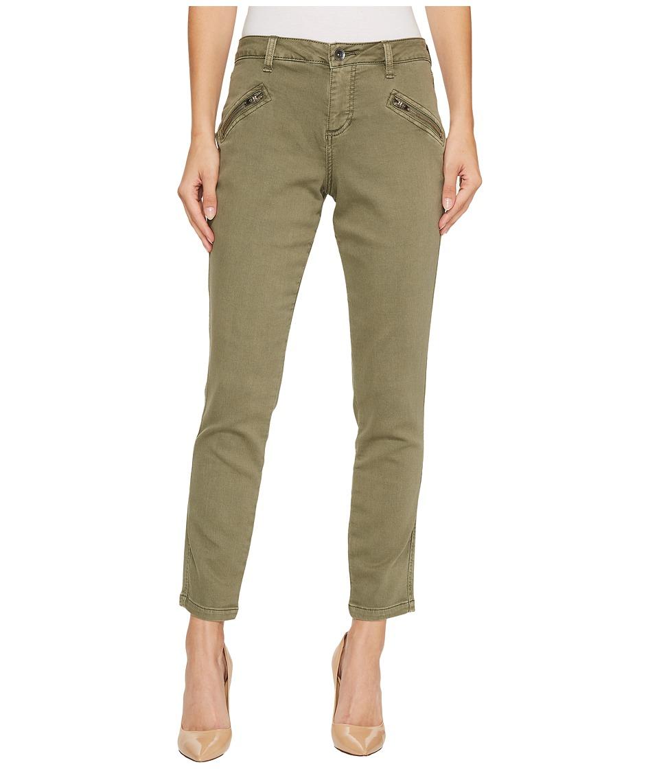 Jag Jeans Ryan Skinny Colored Knit Denim in Silver Pine (Silver Pine) Women