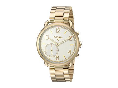 Fossil Q Q Tailor Hybrid Smartwatch - FTW1144 - Gold-Tone Stainless