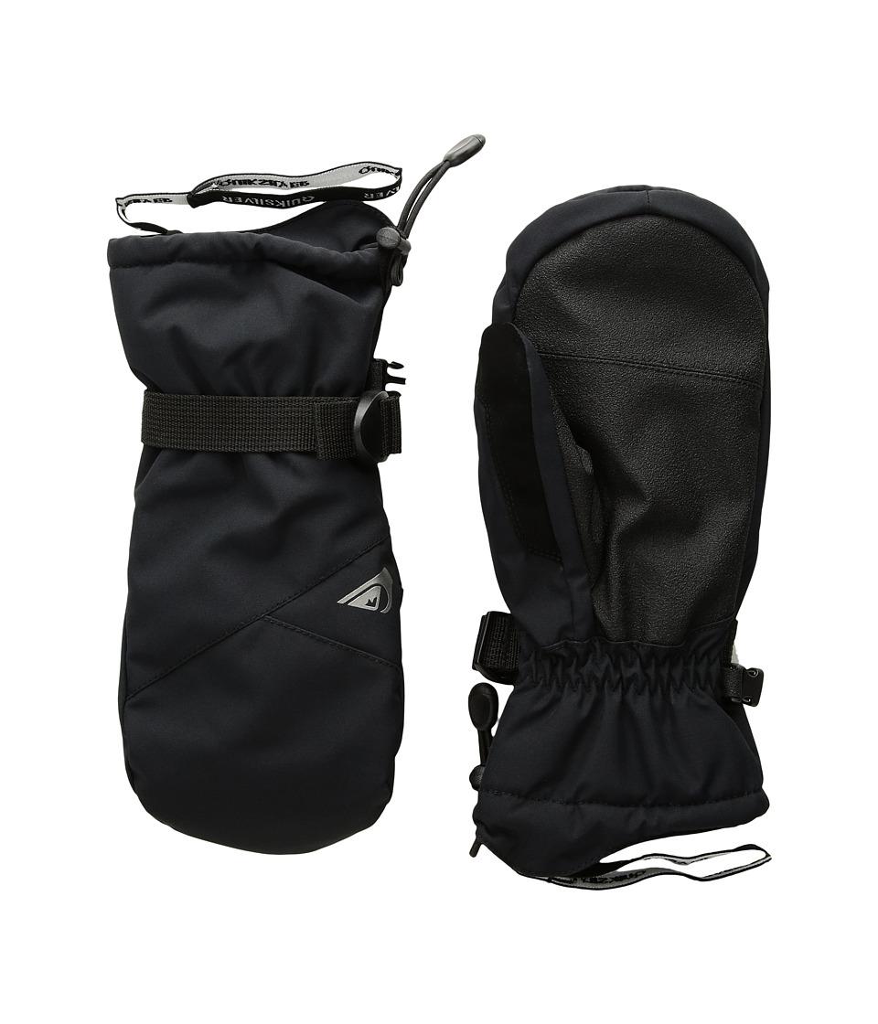 Quiksilver - Mission Mitt (Big Kids) (Black) Extreme Cold Weather Gloves