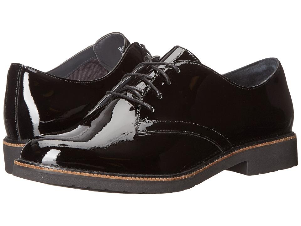 Rockport Total Motion Abelle Lace-Up (Black Patent) Women's Shoes
