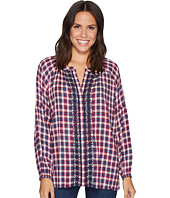 Jag Jeans - Casper Shirt in Yard Dye Cotton Rayon Plaid