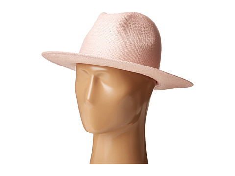 Hat Attack Panama Continental - Pale Pink
