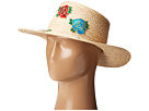 Hat Attack - Rose Patch Boater Blogger Collaboration Hat w/ the Wardrobes