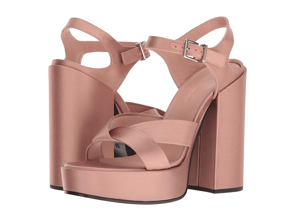 Jil Sander JS25146 (Acient Rose Satin) High Heels