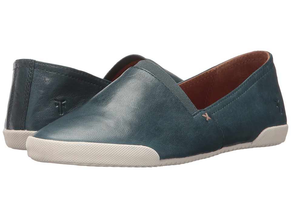 Frye Melanie Slip-On (Blue) Slip-On Shoes