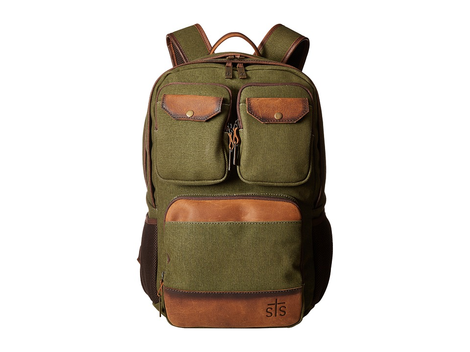 STS Ranchwear - The Foreman Military Backpack (Military G...