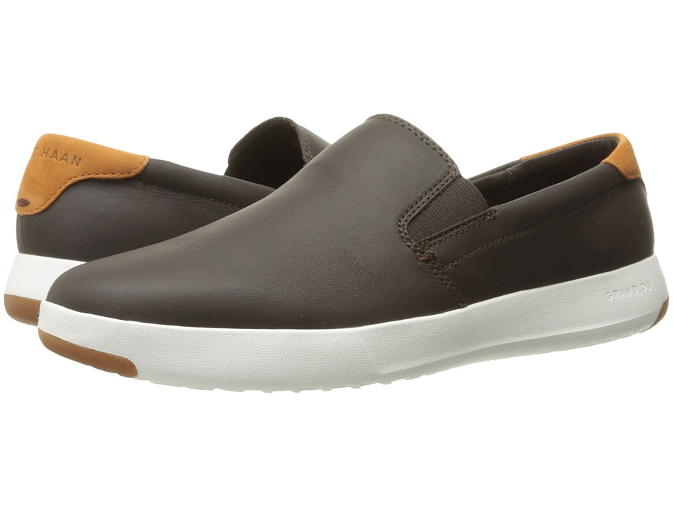 Cole Haan Grandpro Slip-On (Java Leather/British Tan) Men