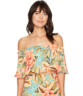 Show Me Your Mumu - Heidi Ruffle Crop Top