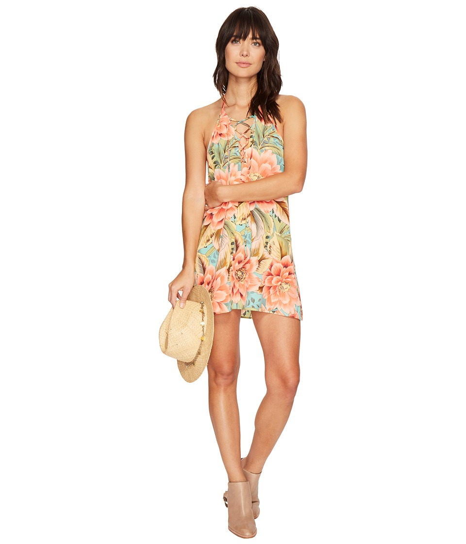 Show Me Your Mumu Lo Lace-Up Mini Dress (Jonny and The Band) Women