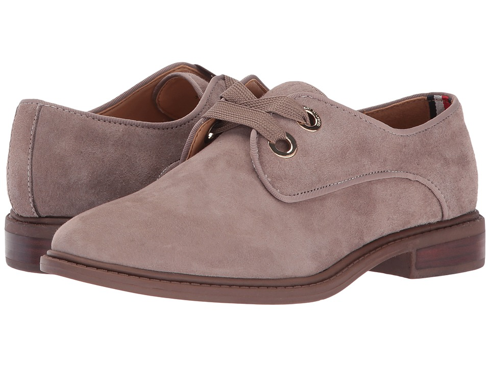 Tommy Hilfiger Jouston (Taupe Suede) Women