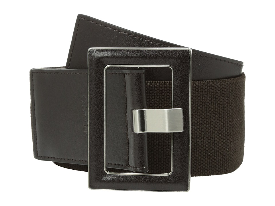 Calvin Klein Calvin Klein - 60mm Stretch Belt w/ Smooth Leather