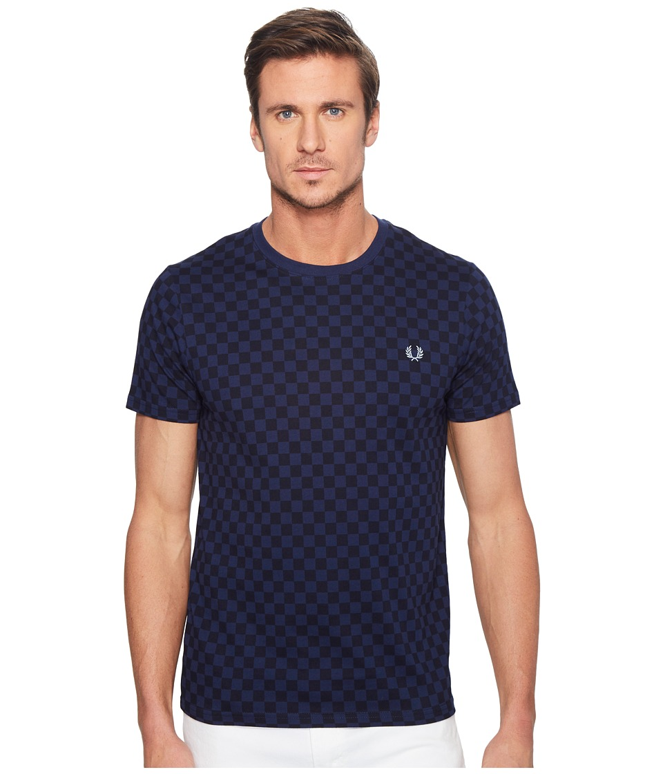 Fred Perry - Checkerboard Print T