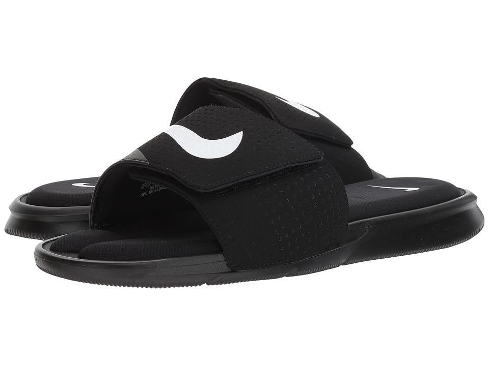 Nike - Ultra Comfort Slide (Black/White/Black) Men's Sandals