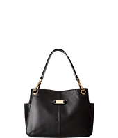Calvin Klein - Key Item Pebble Leather Satchel