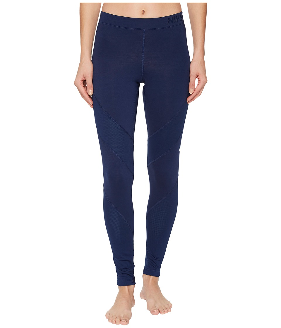 Nike Pro Hyperwarm Training Tight (Binary Blue/Cerulean) Women