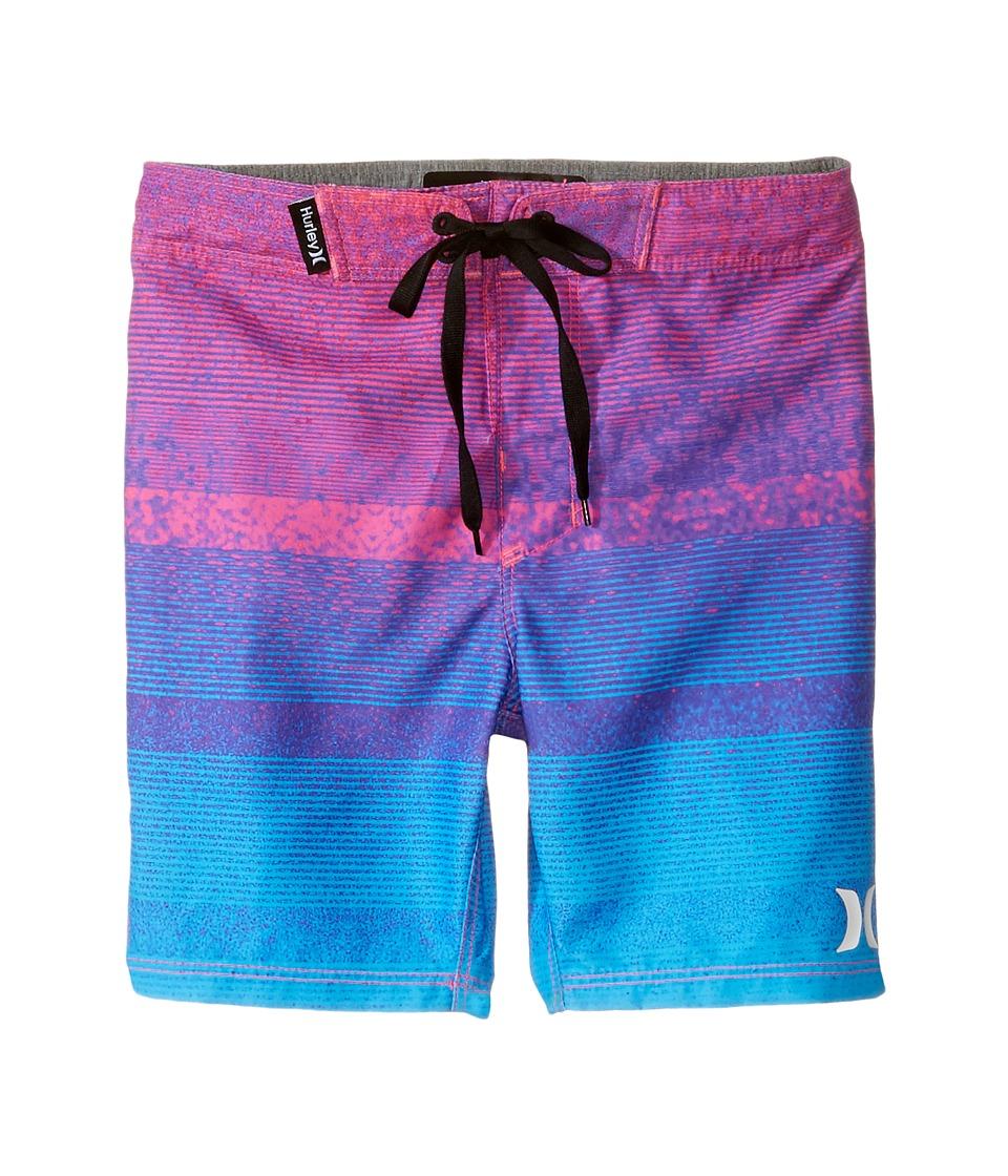 Hurley Kids Zion Boardshorts (Little Kids) (Pink Flash) Boy