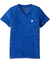 Hurley Kids - Cloud Slub Staple V-Neck Tee (Little Kids)