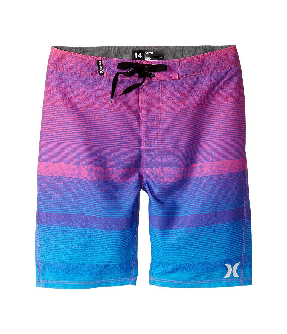 Hurley Kids Zion Boardshorts (Big Kids) (Pink Flash) Boy