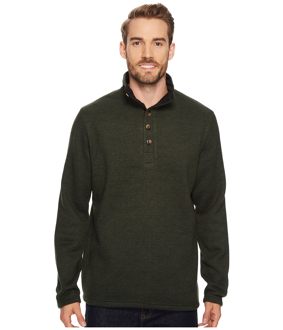 Stetson 1499 Bonded Sweater Knit Pullover (Green) Men